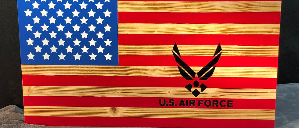 U.S. Air Force / American flag