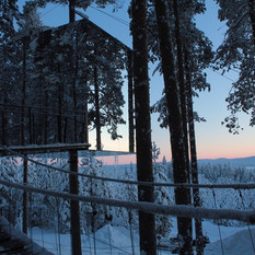 Stay in a Treehouse and Experience the Northern Lights