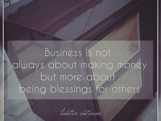 Being Blessing in Interior Business (especially for Surabaya)