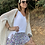 Thumbnail: Falda pantalón flores lila