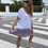 Thumbnail: Falda mini volantes lila