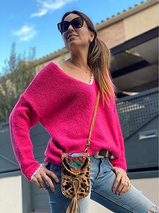 Jersey lana detalla puntas