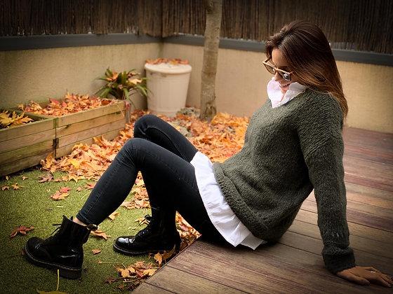 Jersey lana greens