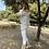 Thumbnail: Blusa gris bordada con volantes