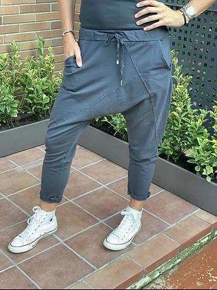 Pantalón baggy liso