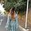 Thumbnail: Vestido seda manga campana