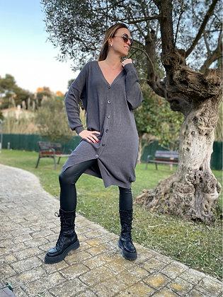 Vestido cárdigan