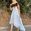 Thumbnail: Vestido celeste volantes