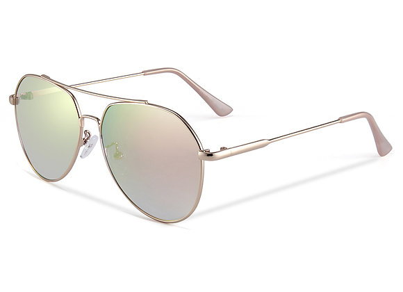 Quattrocento Eyewear Italian Sunglasses with Gold Lenses Model Palmieri