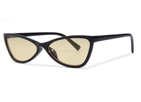 Quattrocento Eyewear Italian Sunglasses with Gold Lenses Model Fabbri