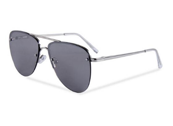 Quattrocento Eyewear Italian Sunglasses with Dark Lenses Model Lombardi
