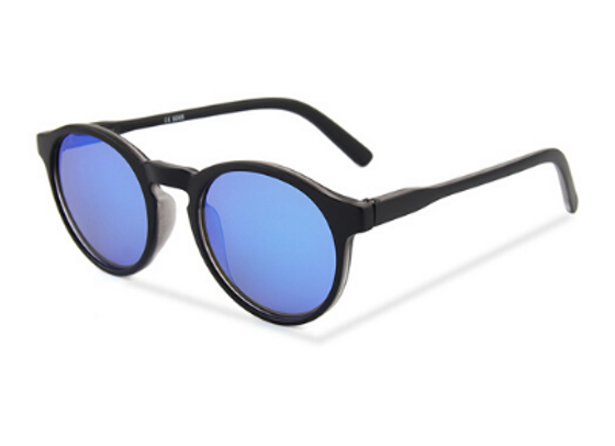 Quattrocento Eyewear Italian Sunglasses with Blue Lenses Model Messina