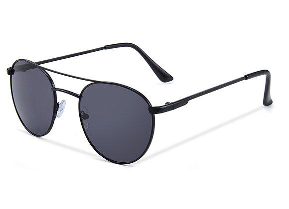 Quattrocento Eyewear Italian Sunglasses with Black Lenses Model Barone