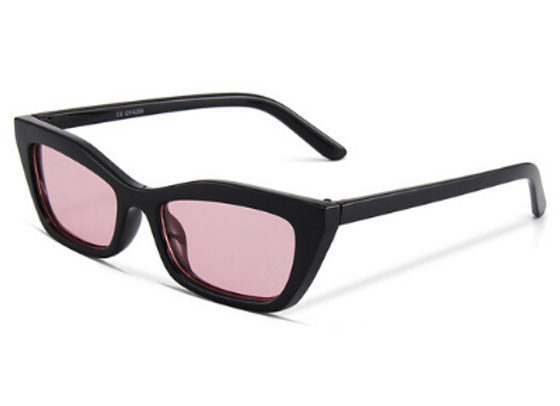 Quattrocento Eyewear Italian Sunglasses with Pink Lenses Model Ferraro
