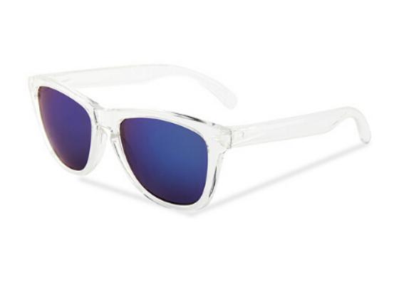 Quattrocento Eyewear Italian Sunglasses with Blue Lenses Model Serra