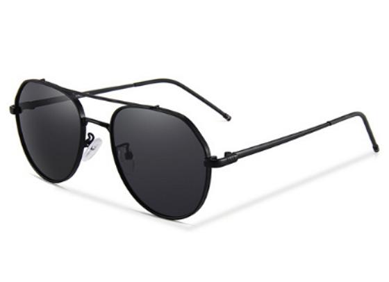 Quattrocento Eyewear Italian Sunglasses with Black Lenses Model Bruno