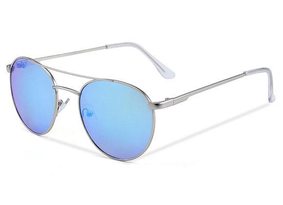 Quattrocento Eyewear Italian Sunglasses with Blue Lenses Model Caputo