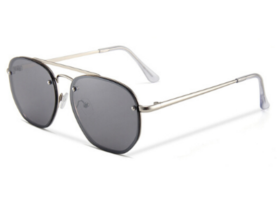Quattrocento Eyewear Italian Sunglasses with Dark Lenses Model Russo