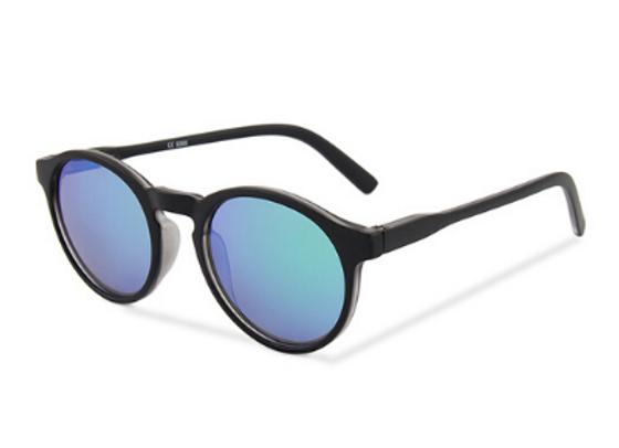 Quattrocento Eyewear Italian Sunglasses with Blue Lenses Model Valentini