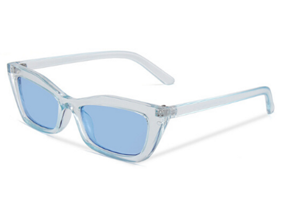 Quattrocento Eyewear Italian Sunglasses with Blue Lenses Model Conte