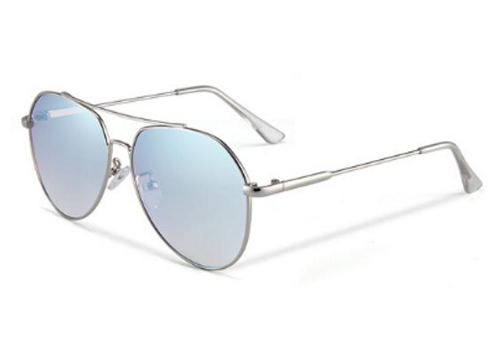 Quattrocento Eyewear Italian Sunglasses with Blue Lenses Model Greco
