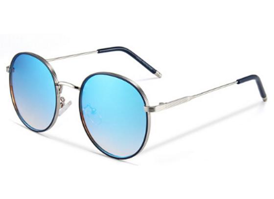Quattrocento Eyewear Italian Sunglasses with Blue Lenses Model Conti