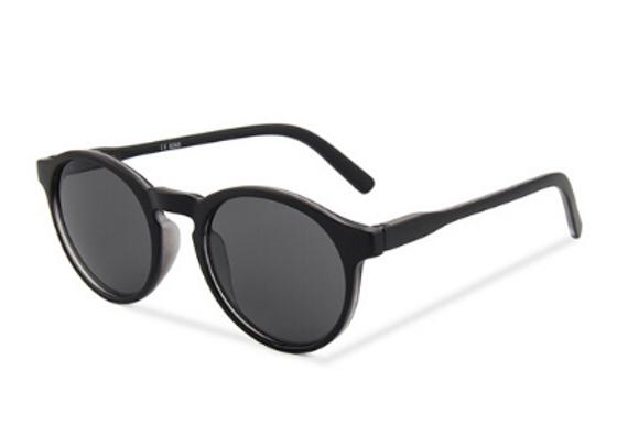 Quattrocento Eyewear Italian Sunglasses with Black Lenses Model Grasso