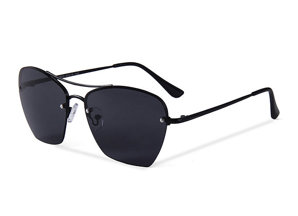 Quattrocento Eyewear Italian Sunglasses with Black Lenses Model Martino