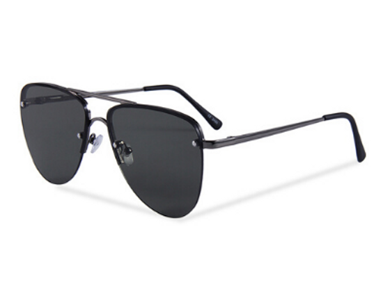Quattrocento Eyewear Italian Sunglasses with Black Lenses Model Rizzo