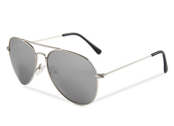Quattrocento Eyewear Italian Sunglasses with Silver Lenses Model Gentile
