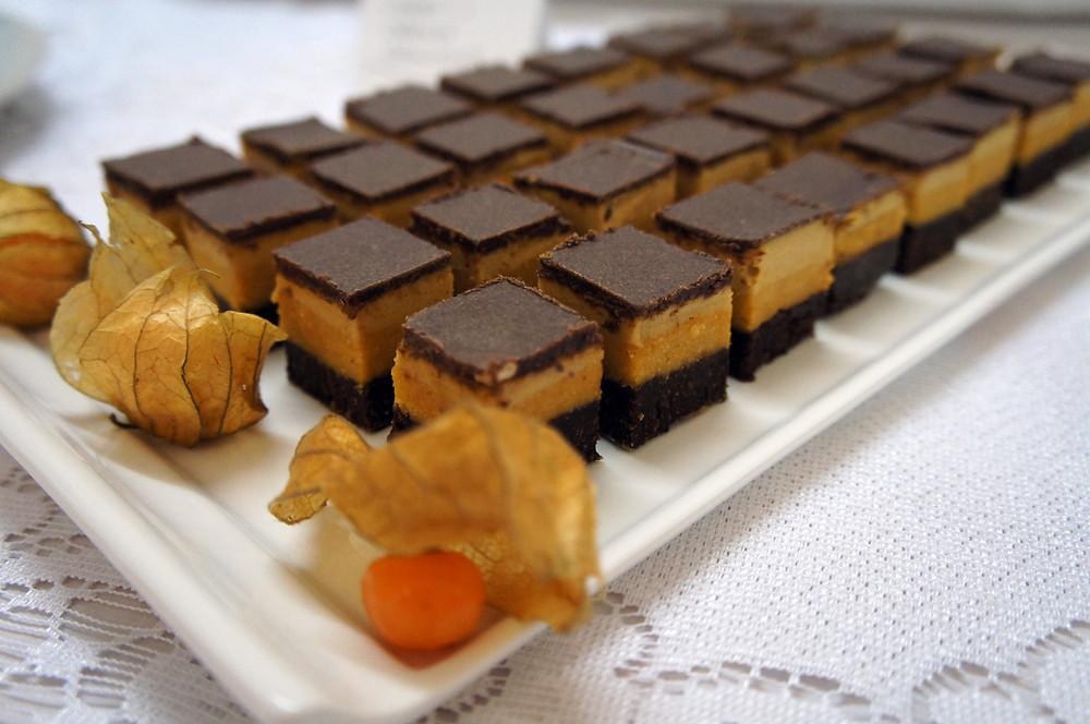 Orange & Carrot Brownie Bites