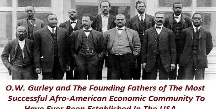 O. W. Gurley and the founding fathers of