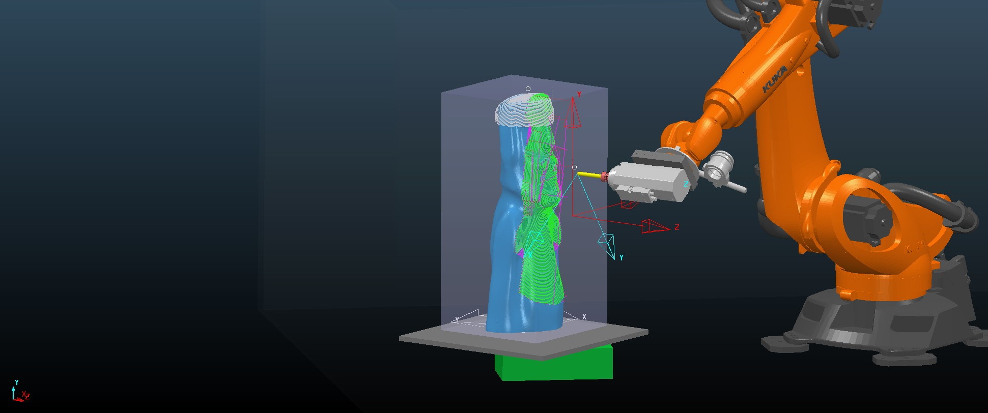 CNC simulation