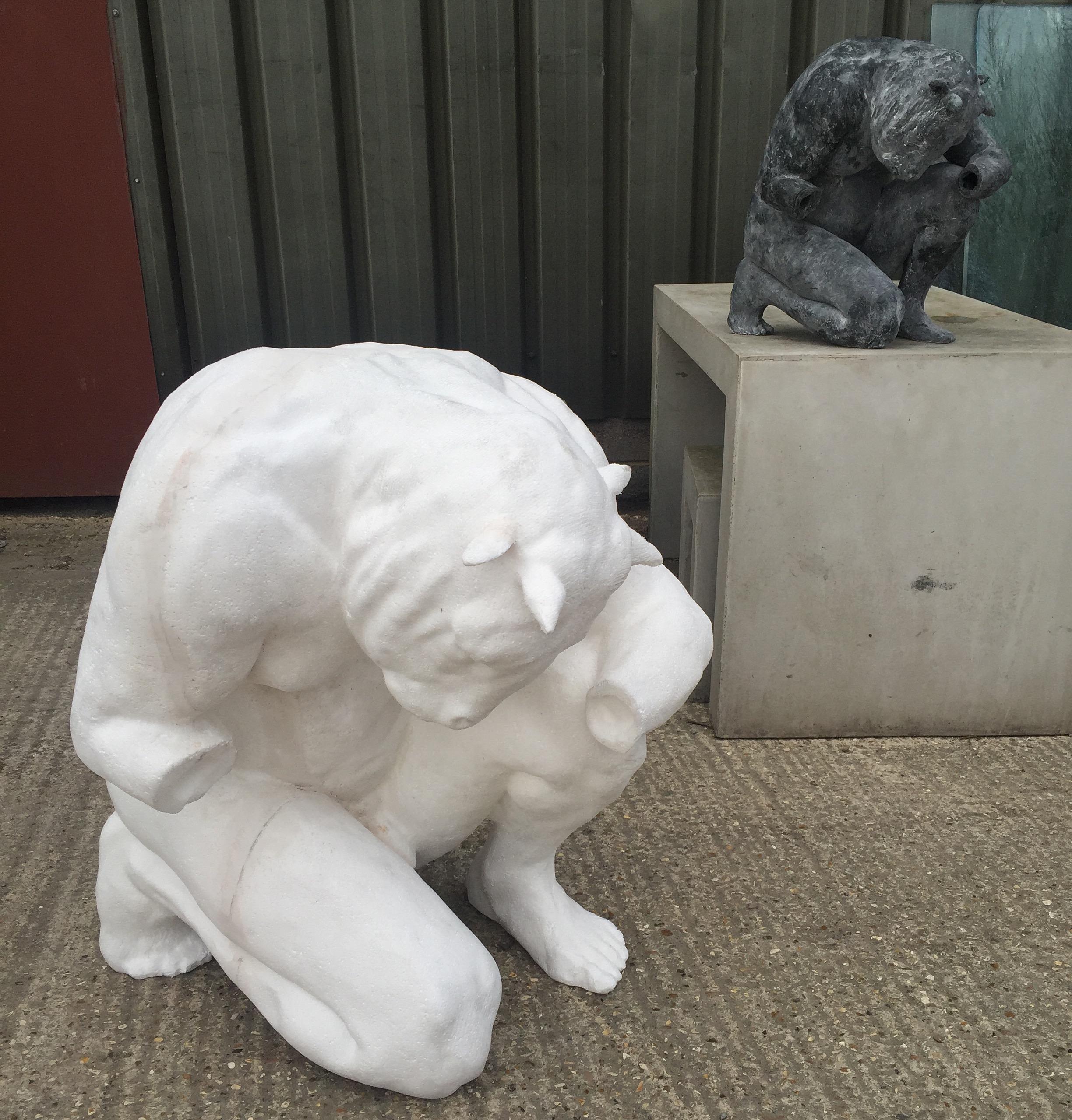 Minotaur original & enlargement