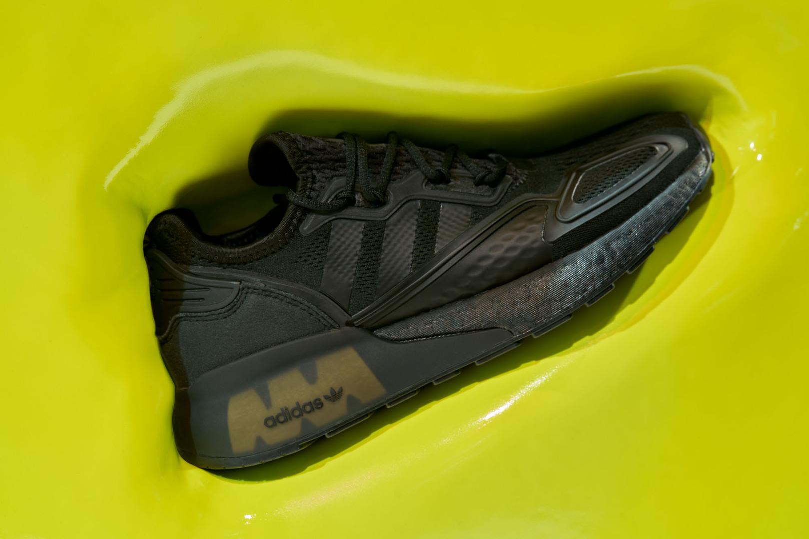 Adidas ZX Boost_ Oxford Street shop disp