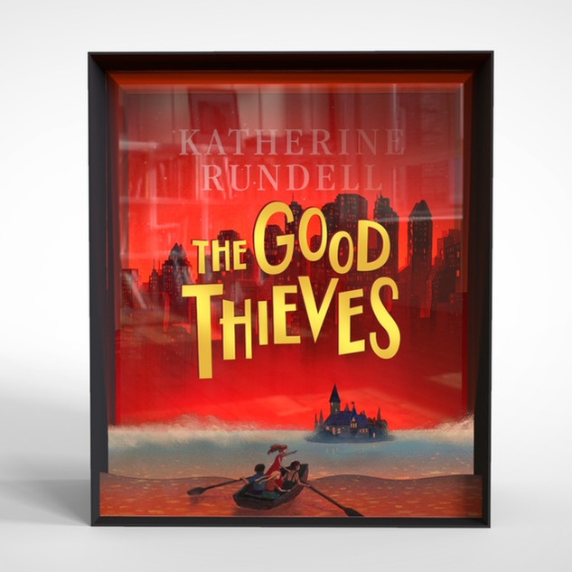 The Good Thieves: Window display