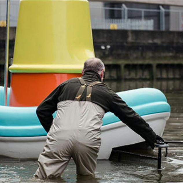 IKEA: Toy boat enlargement