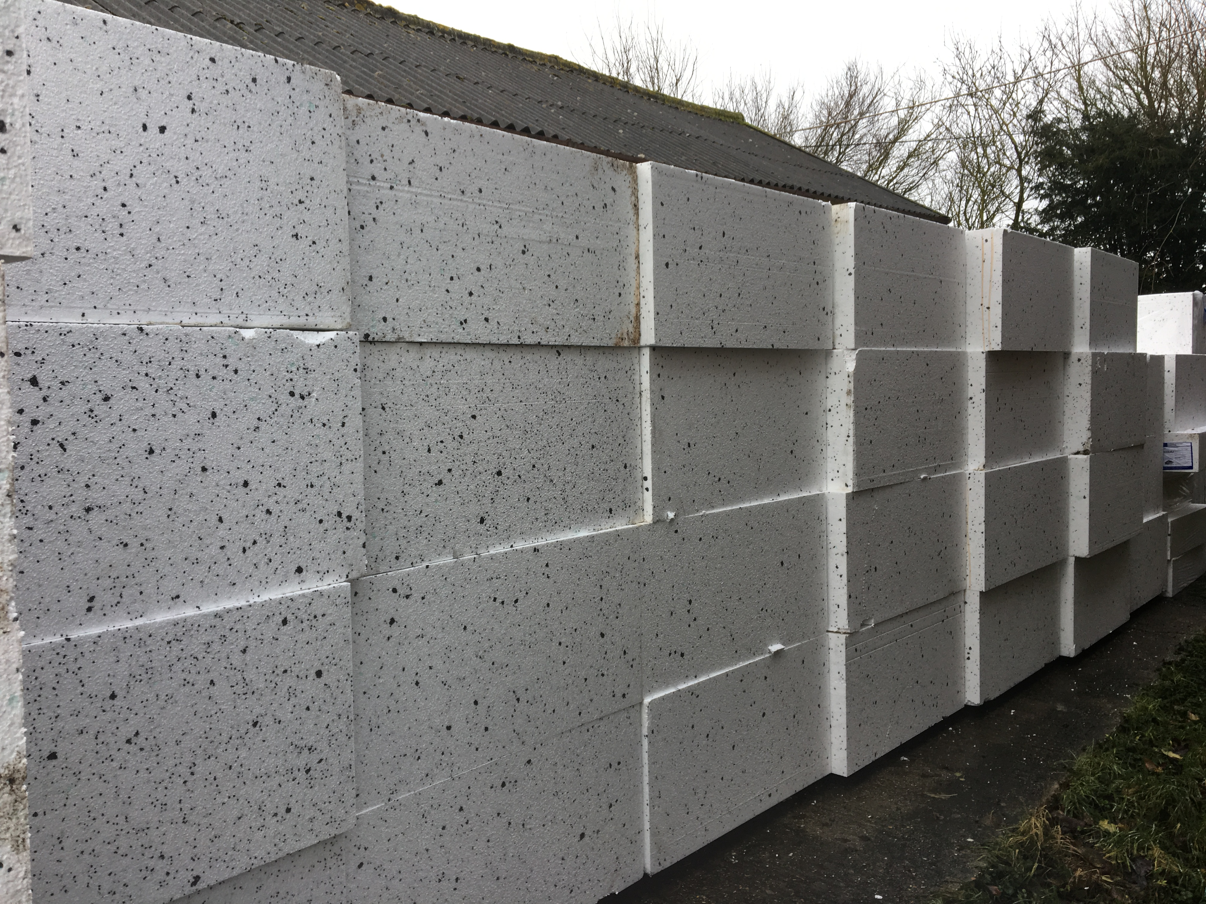 Polystyrene delivery