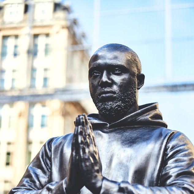 Headie One: Bespoke hyperrealistic statue
