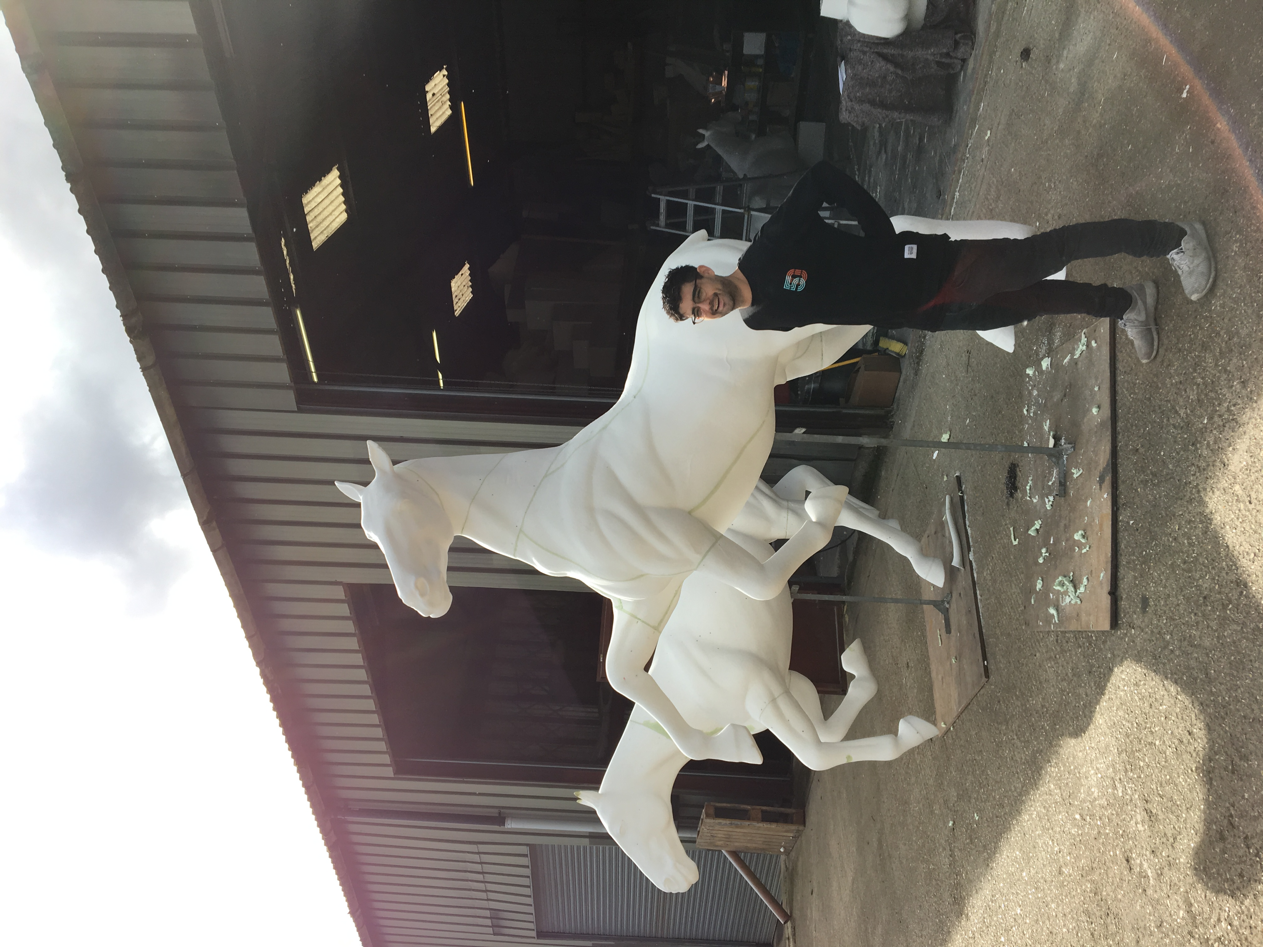 Horses assembled 2