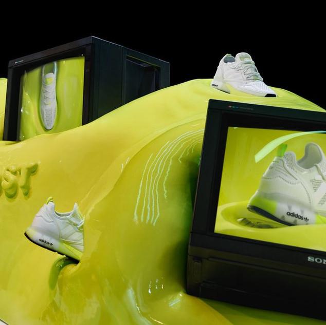 Adidas ZX Boost: Oxford Street shop display