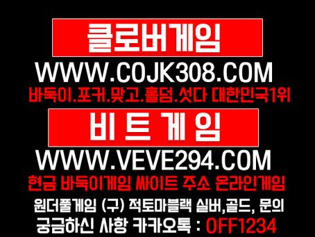 바둑이게임 사이트 블루칩 다이아 클로버게임과 원더풀게임 그리고 몰디브게임 후리기