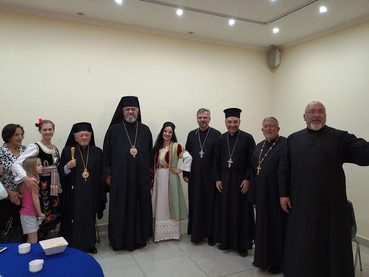 Visita a Chile de Su Eminencia Kirilo, Obispo de Buenos Aires, Centro y Sur América