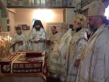 Fiesta Parroquial en la Catedral Ortodoxa Rusa de la Resurrección (ROCOR) en Nuñez