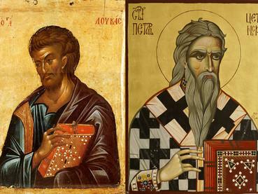 Santo Apóstol y Evangelista Lucas y San Pedro de Cetinje