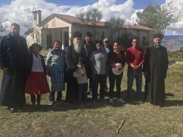 El Metropolita Amfilohije en Cusco, histórica ciudad Inca, celebró la Divina Liturgia