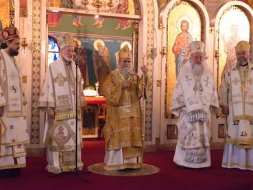 Actividades de S. E. R. Metropolita Amfilohije y S. E. Obispo Kirilo en los Estados Unidos – Reunión