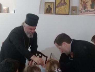 Domingo de Ramos en Buenos Aires con los niños de Catecismo