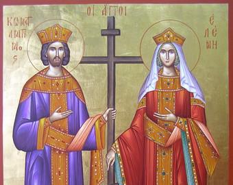 Santos Emperadores Constantino y Elena, Equiapóstoles