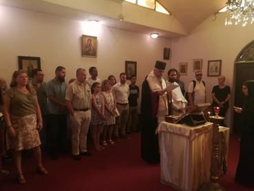 Moleben por la perseguida Iglesia Serbia en Montenegro, y homenaje a Aleksandar Svivak